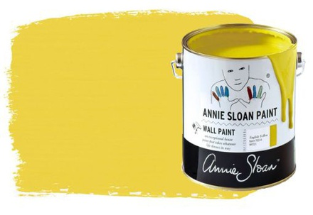 Annie Sloan Muurverf English Yellow 2500 ml